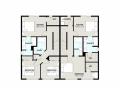Elridge duplex 2d floorplan level 2